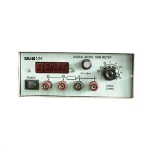 RELIABLE MICRO OHM METER 53C
